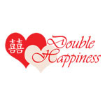 Double Happiness Invitations Card