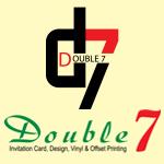 Double 7 Invitations Card