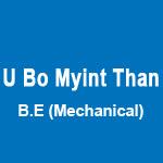 U Bo Myint Than Wedding Planners